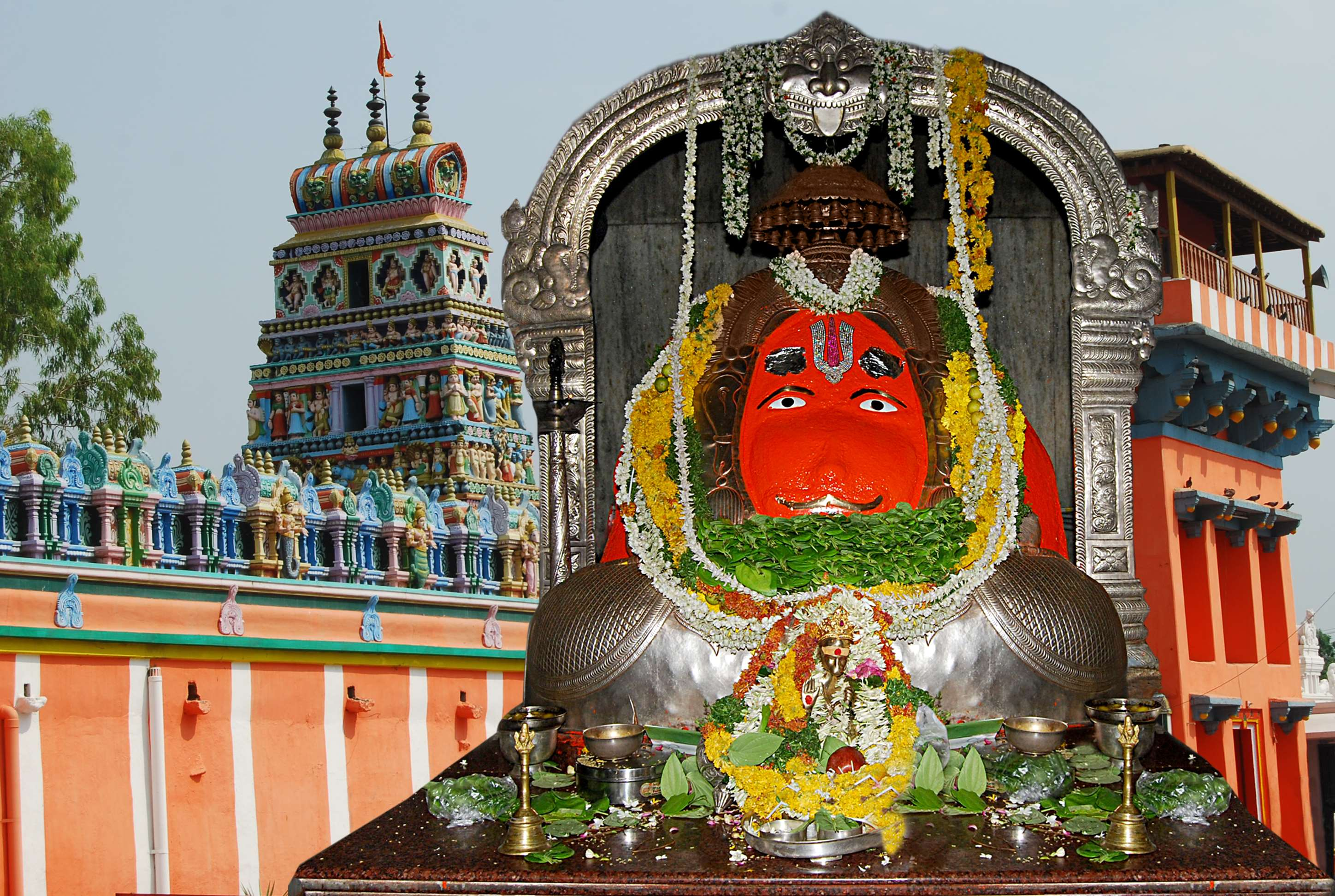 History of the Karmanghat Hanuman Temple