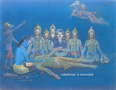 Lakshman is Wounded