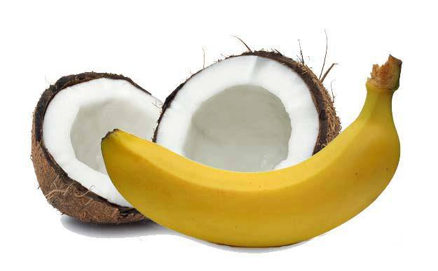 Why only Coconut and Banana are offered in the temples ?