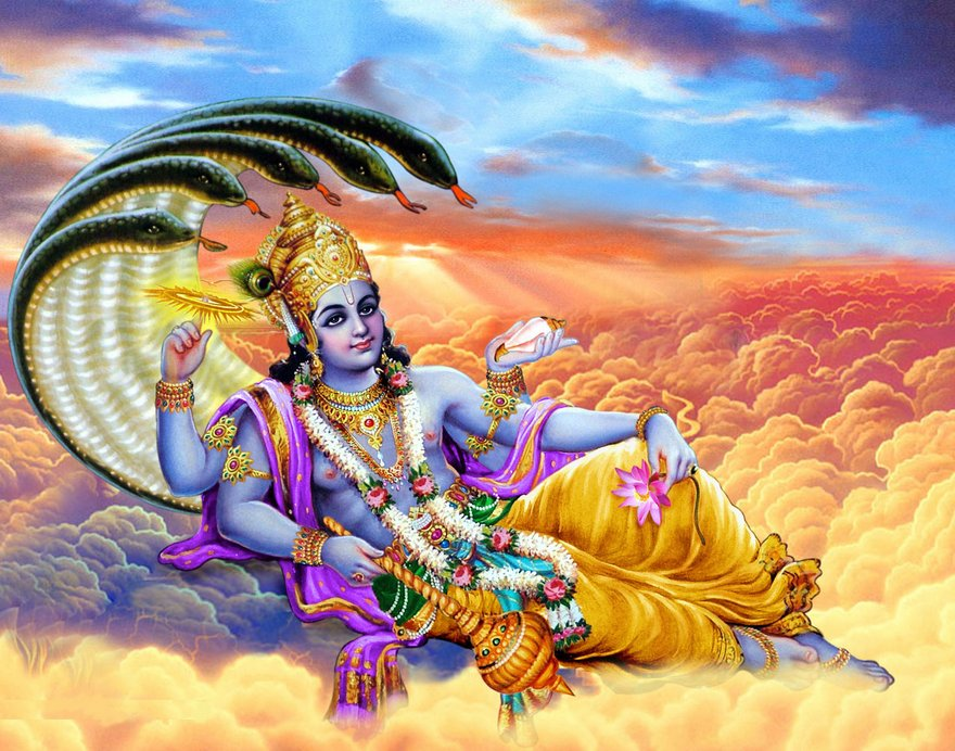 One Thousand Names of Lord Vishnu (Sahasranamavali)