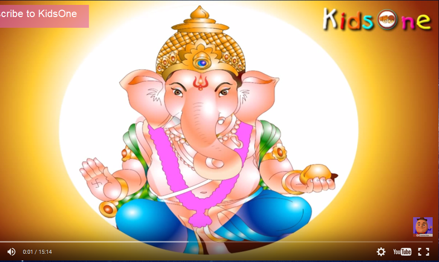 Hindu Festivals - History of Ganesh Chaturthi In Telugu - with Animation
